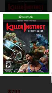 Liverpool: killer instinc Definitive Edition para Xbox One a $799