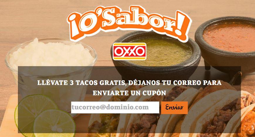 Oxxo: TACOS GRATIS!!! únicamente en MTY