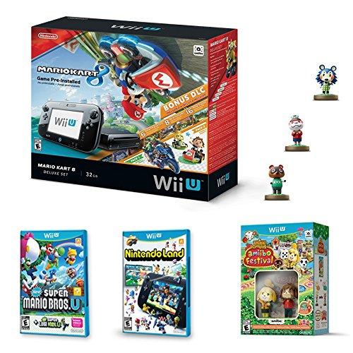 Amazon: Nintendo Wii U 32Gb + 4 juegos + 5 amibos