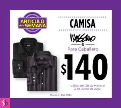 Artículo de la semana en Suburbia: camisa para hombre a $140