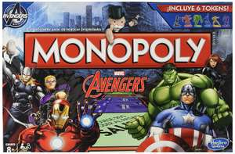 Amazon: Monopoly Avengers (En español) a $160