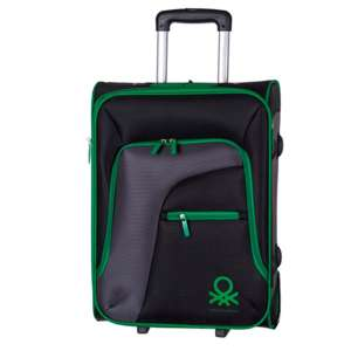 MeQuedoUno: Maleta Trolley Benetton Negra