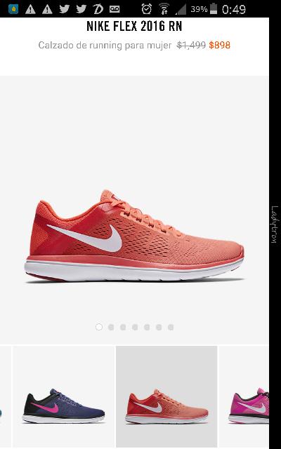 Nike en línea: Nike Flex 2016 RN