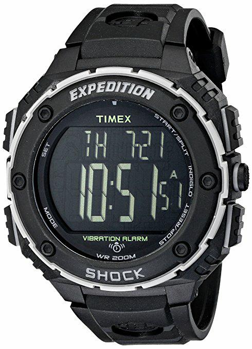 Amazon: Reloj Timex Expedition Super Shock, negro,envio incluido precio normal $2,650