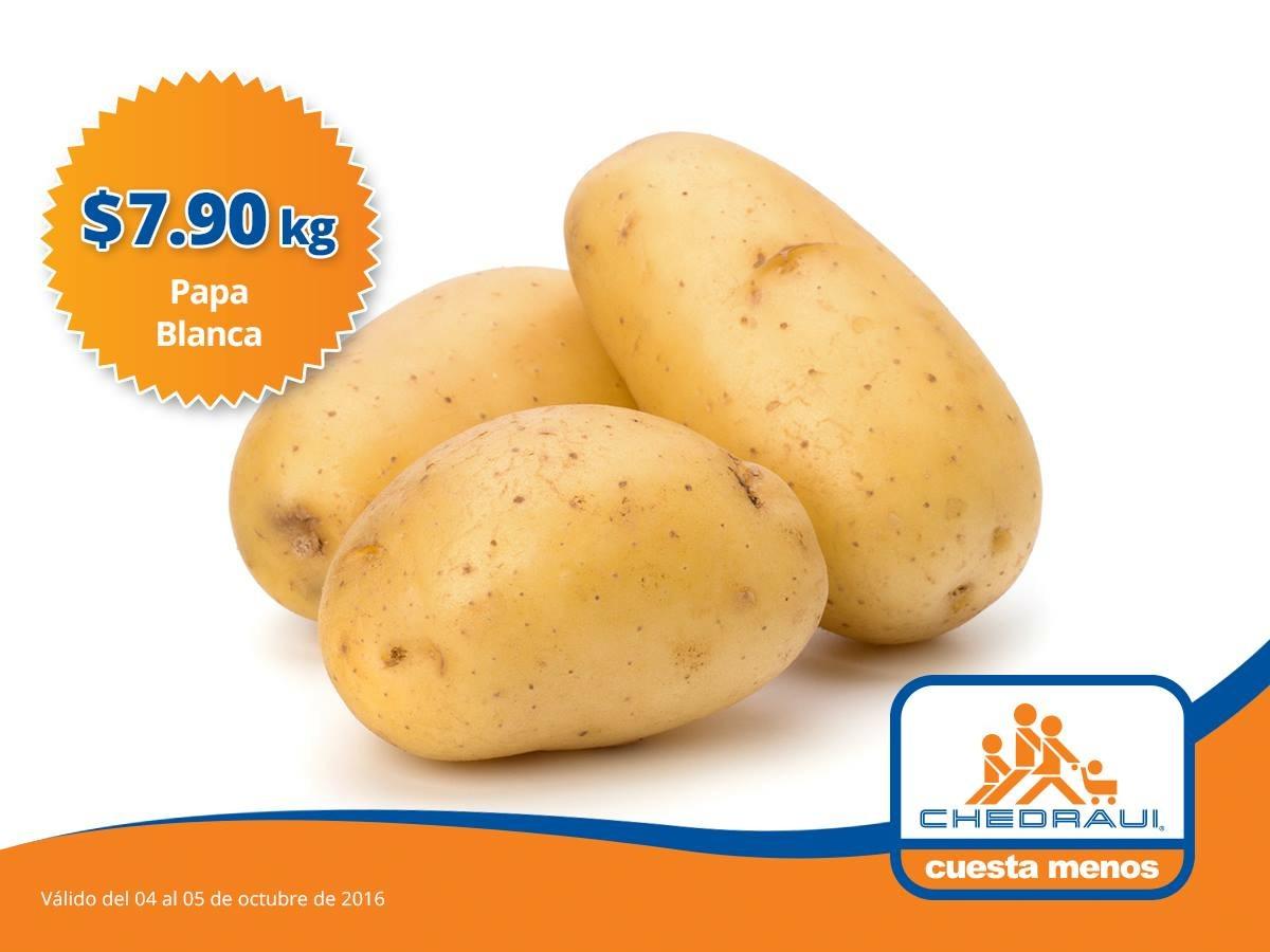 Ofertas de martimiércoles en Chedraui 4 y 5 de octubre: papa blanca a $7.90 el kilo y más