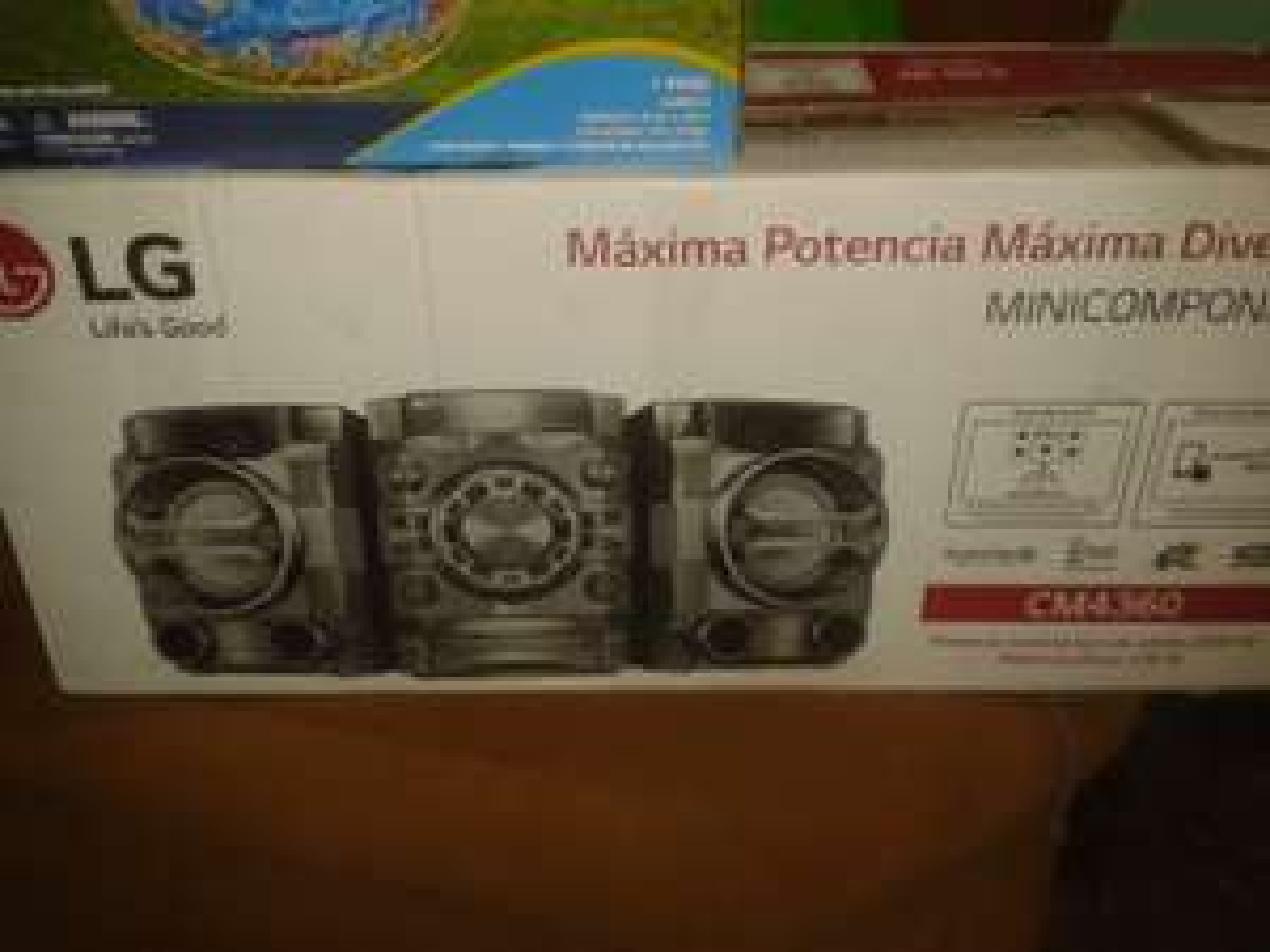 Bodega Aurrerá: Minicomponente LG CM4360 a $1,195.01