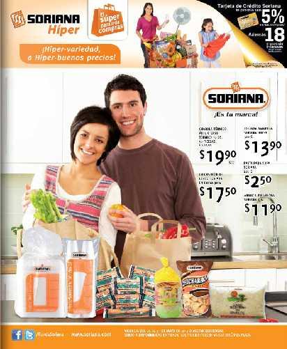 Folleto Soriana mayo 25: 3x2 en desodorantes, cereales Gerber, frijoles y más