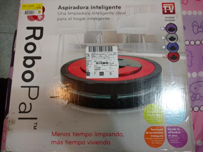 Walmart Universidad Vhsa: robotPal aspiradora inteligente  a $800.02, Waflera Farberware a $275.01