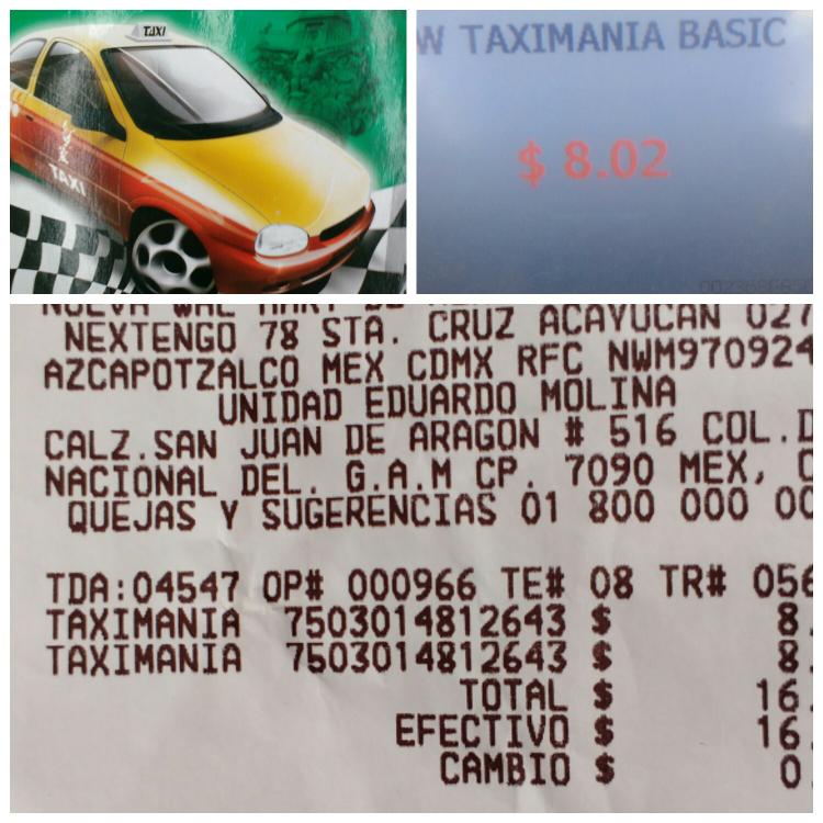 Walmart: vehículo de juguete Taximania a $8.02