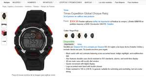 Amazon MX: Reloj TIMEX Timex Expedition Global Choque Reloj $260
