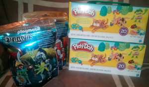 Bodega Aurrerá:  Play-Doh 20 colores, Playmobil Dragons y otras ofertas