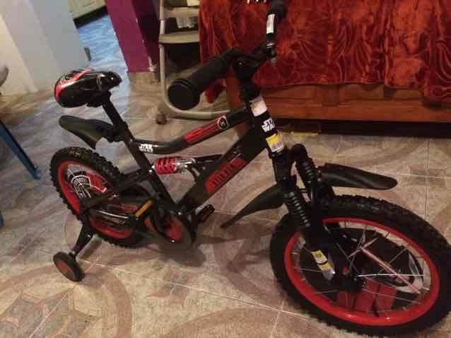 Walmart: bicicleta Star Wars R16 a $720.01