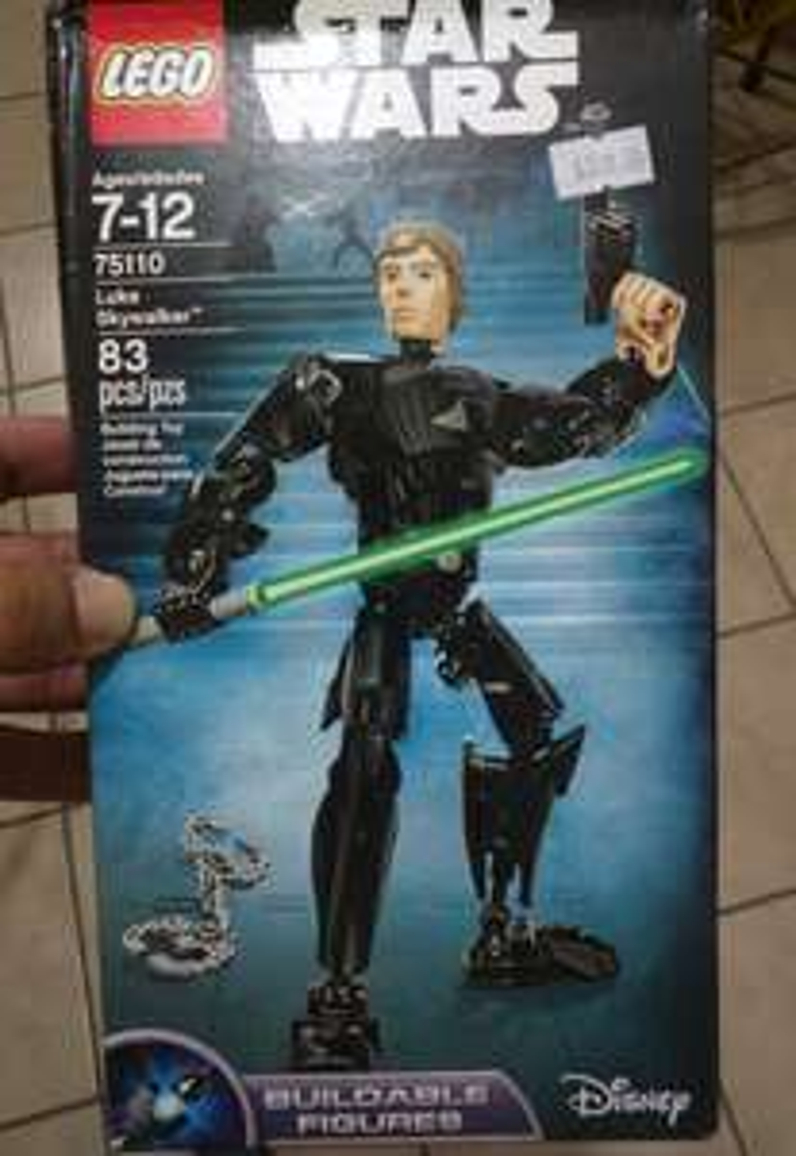 Walmart Sendero Ixtapaluca: Lego Star Wars Luke Skywalker $48.01