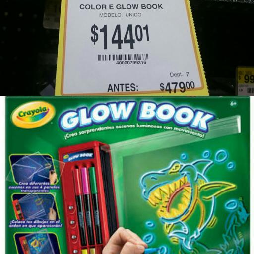 Walmart: Crayola Glow Book a $144.01