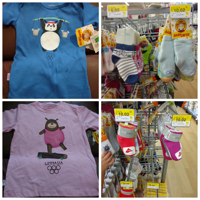 Walmart Tuxtla: Playeras y pañaleros Baby Creysi a $10.01 y más...
