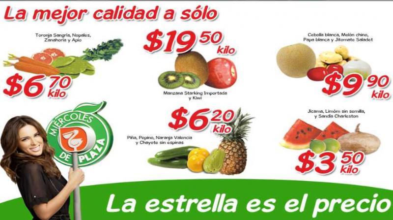 Miércoles de Plaza en La Comer mayo 23: jícama, sandía y limón $3.50 y más