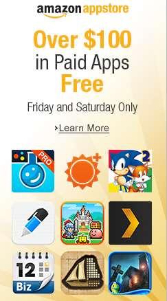 Amazon App Store: 31 aplicaciones gratis para Android (valor de más de $1,000)
