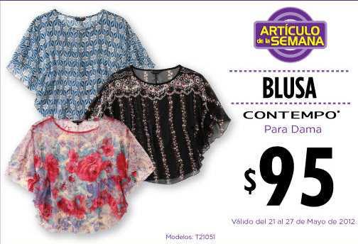 Artículo de la semana en Suburbia: blusa Contempo a $95