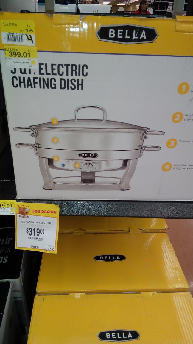 Walmart CDMX Buenavista: Bufetera a $319.01
