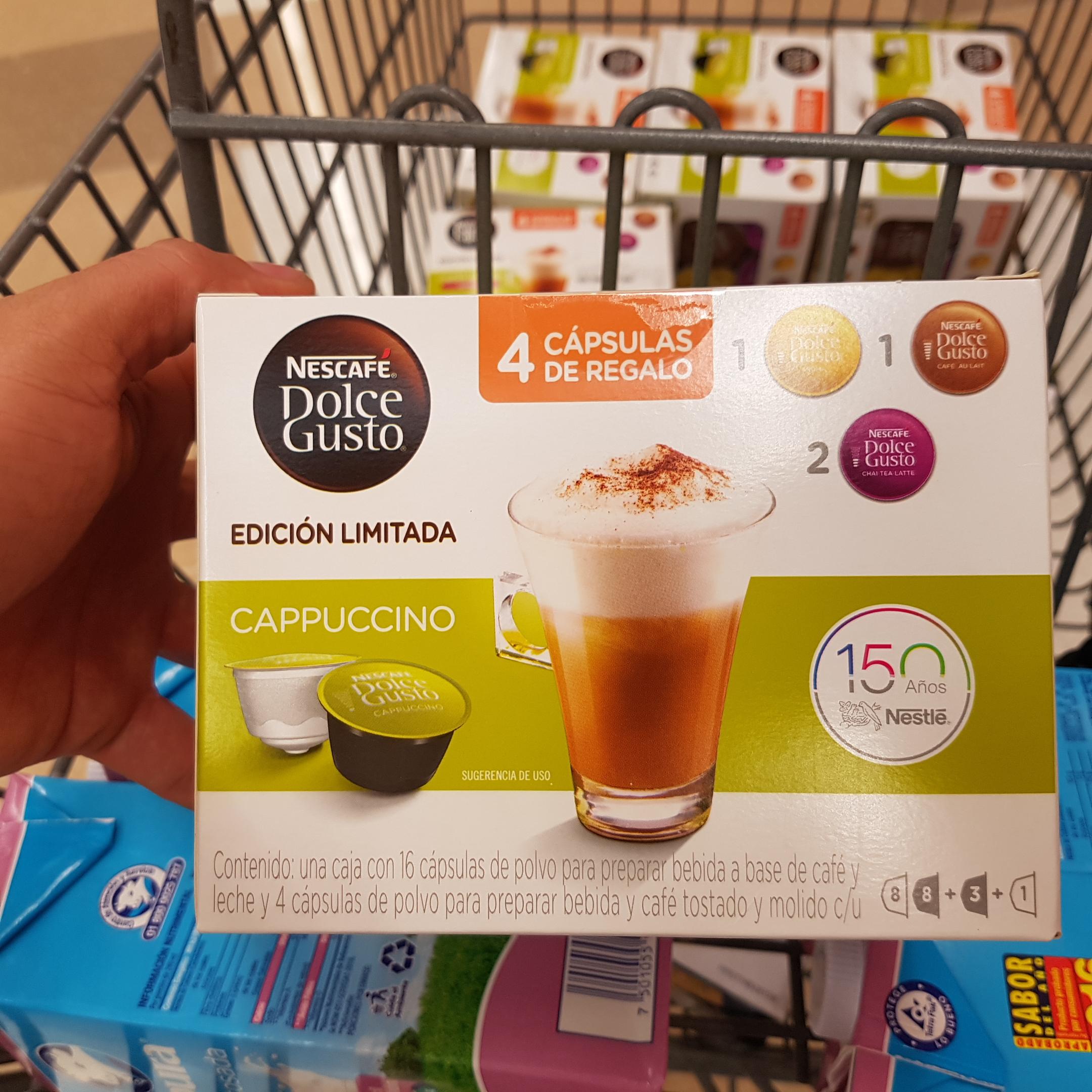 Superama: Cápsulas para dolce gusto en $10 pesitos