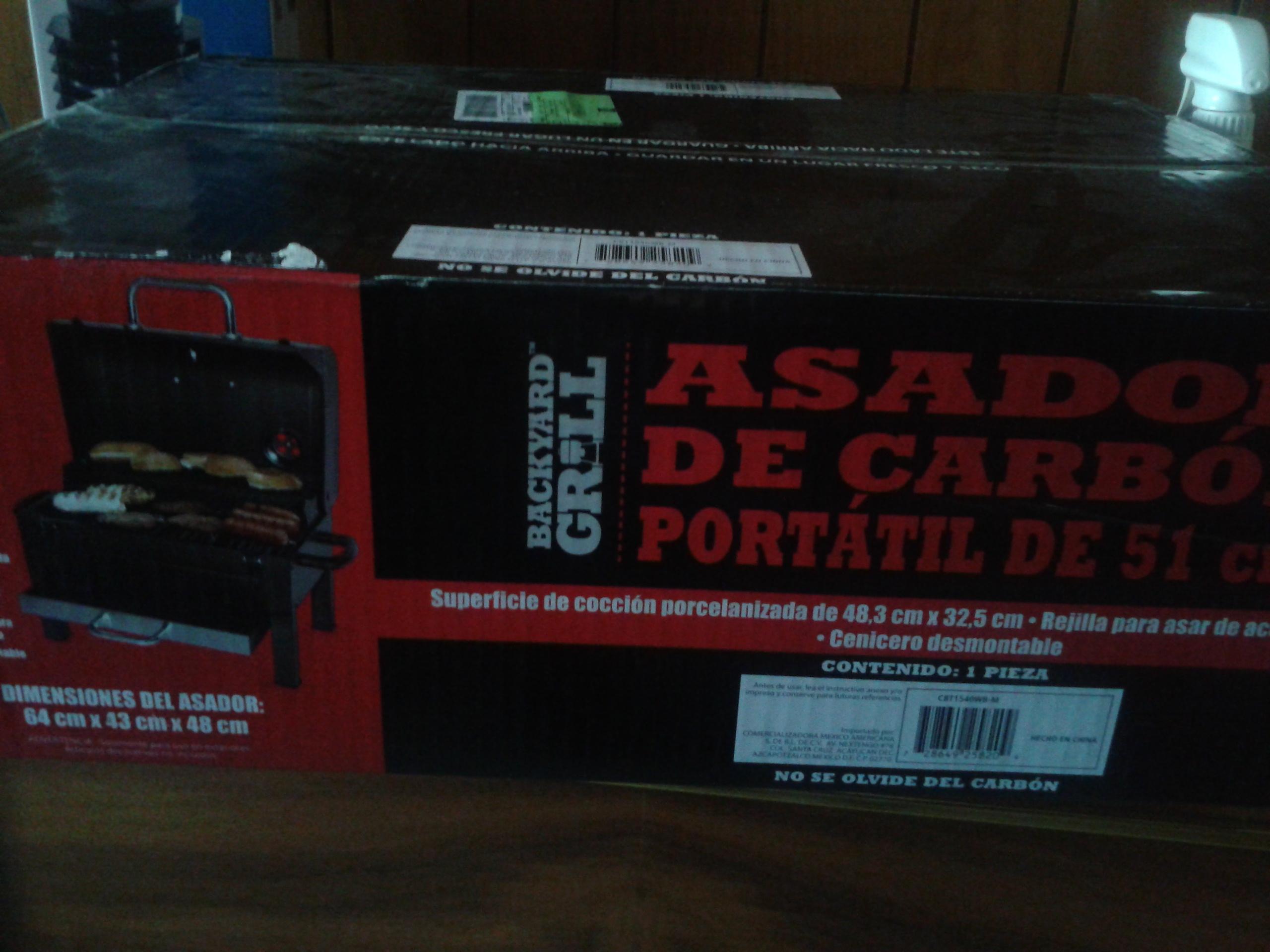 Walmart: Asador portatil a $193.01