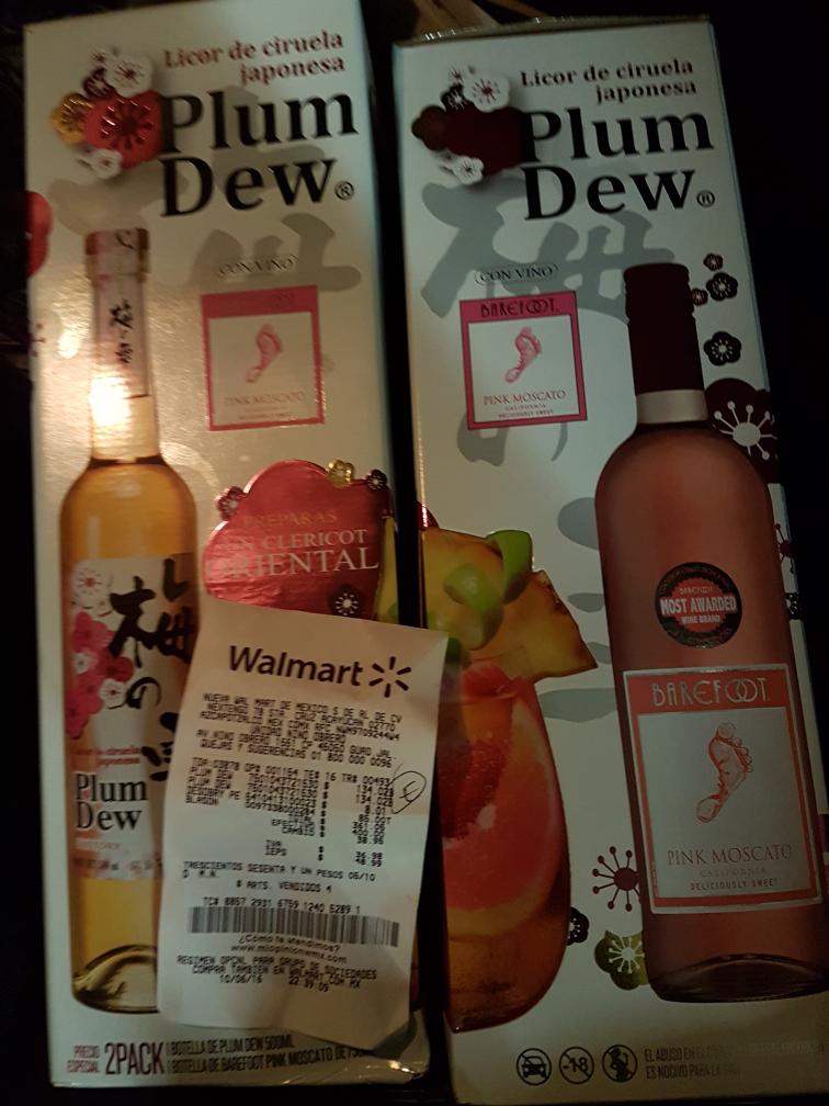 Walmart niño obrero gdl: plum dew + barefoot pink moscatto