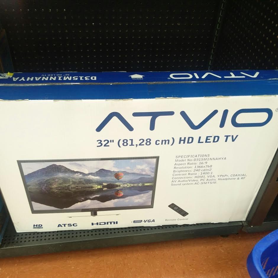 """Walmart: Televisión ATVIO 32"""" a $1,495.01"""
