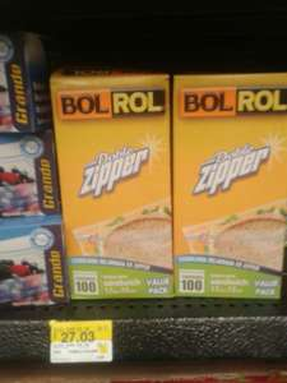 Walmart Centrika: bolsa para sandwich a $27.03