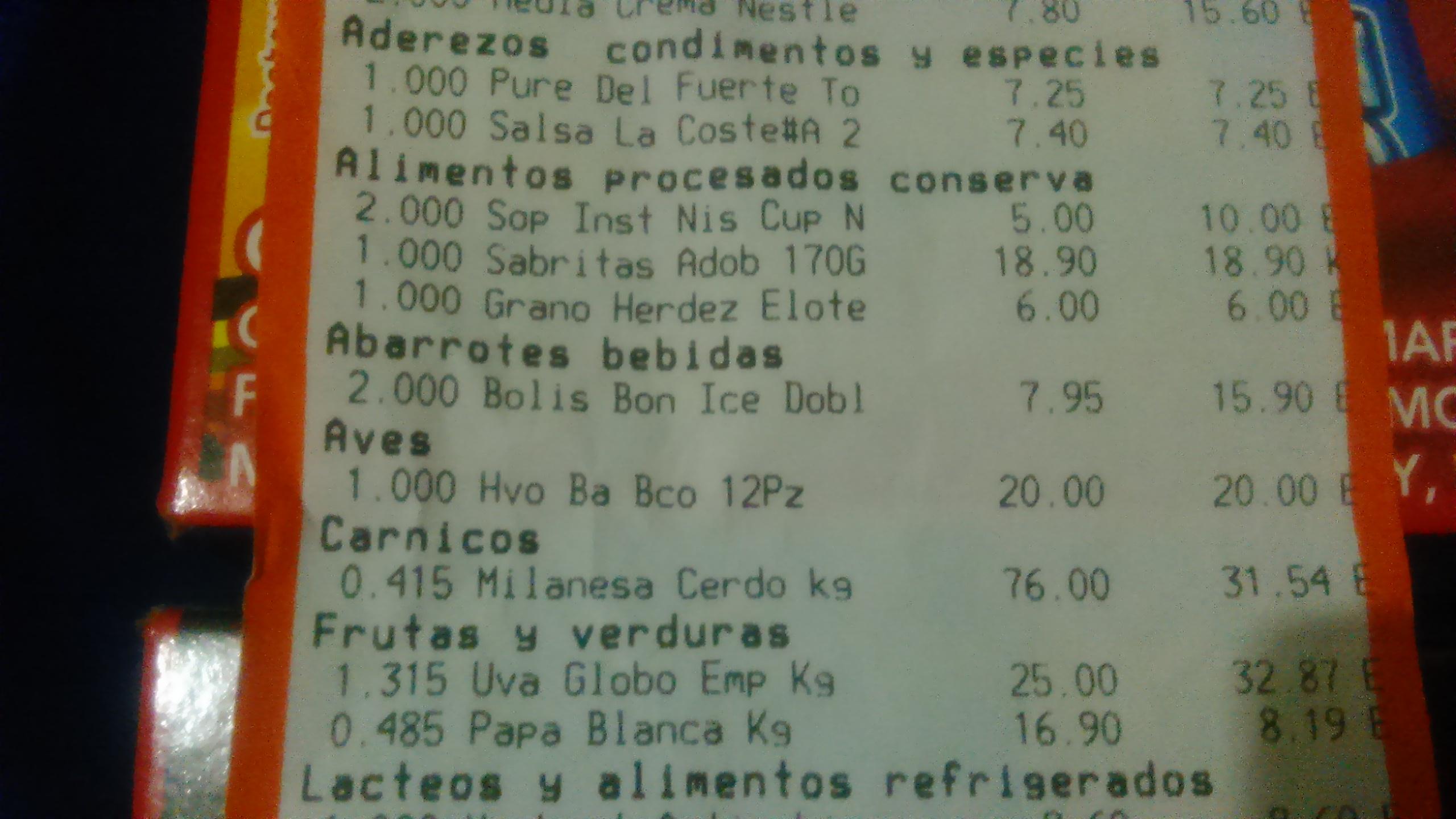 Chedraui mina villahermosa: BonIce 5 piezas a $7.95