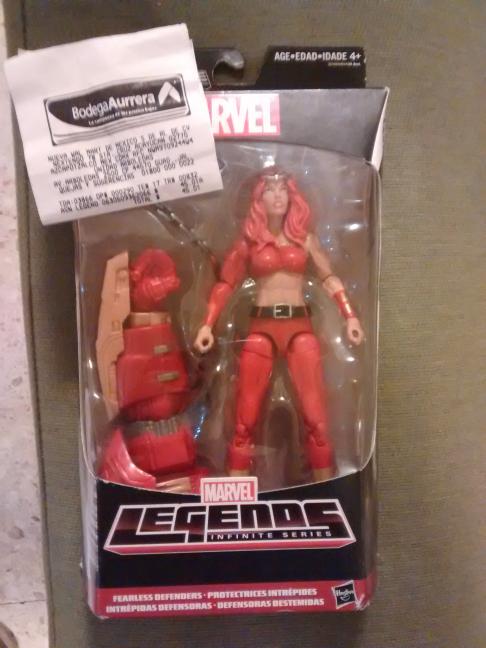 Bodega Aurrerá: Figura Marvel Legends. Super Precio ;)