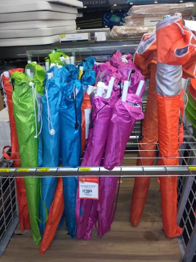 Walmart: sombrillas gigantes a $139