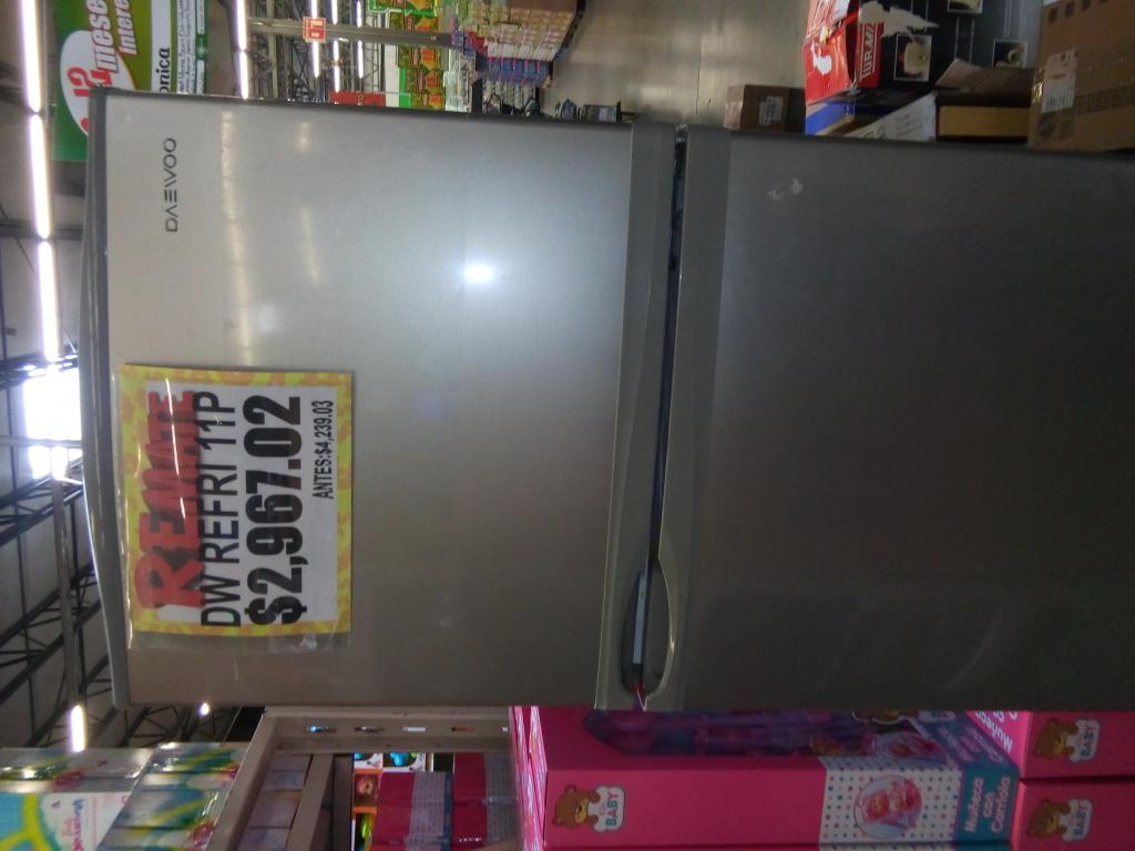 Bodega Aurrerá: Refrigerador Daewoo 11 pies a $2,967.01
