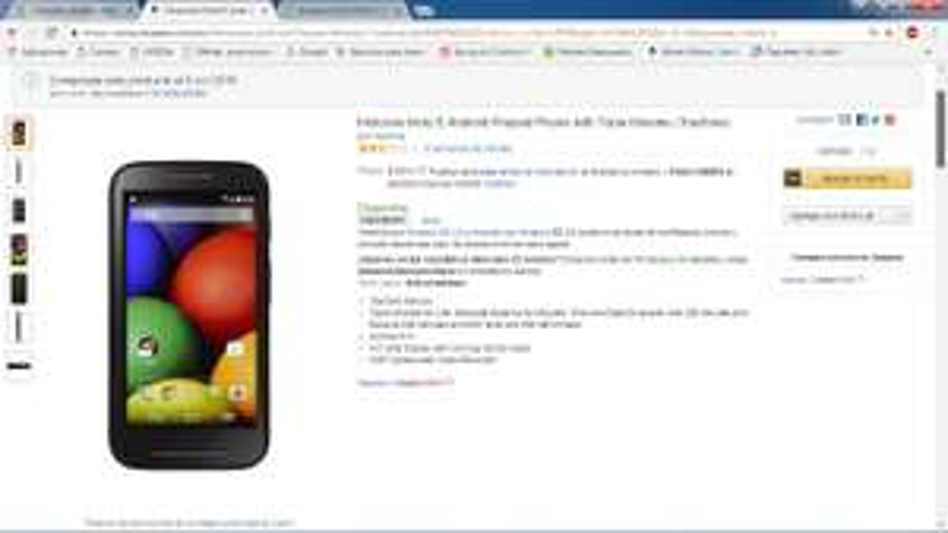 Amazon: Motorola Moto E  (Tracfone)