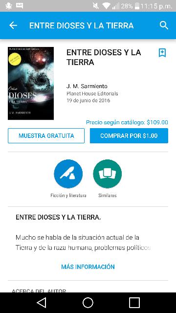 Google Play: Entre Dioses y la Tierra de $160 a sólo $1 peso