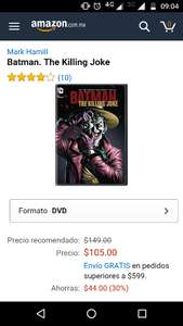 Amazon: Batman the Killing Joke