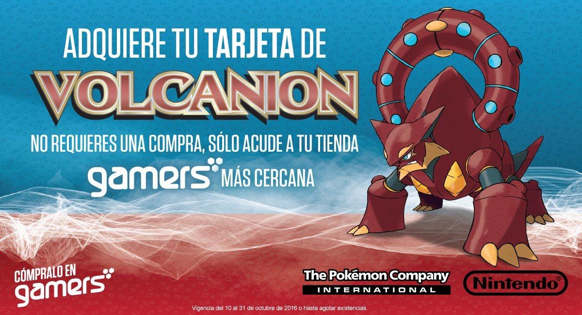 Gamers Retail: gratis tarjeta con código de Volcanion para Pokemon