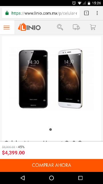Linio: Huawei gx8 16gb en oferta