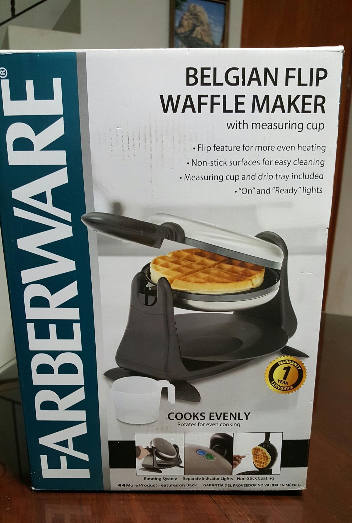 Walmart: 4ta liquidación waflera farberware