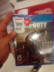 Sears: Call of Duty: Advance Warfare Day Zero para PS4 a $499