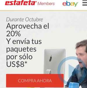 Estafeta Members: envíos a $8USD