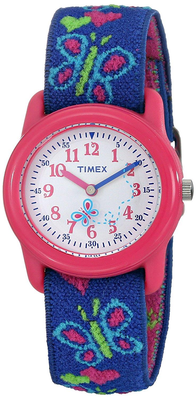 Amazon: Timex Kids niña reloj correa elástica