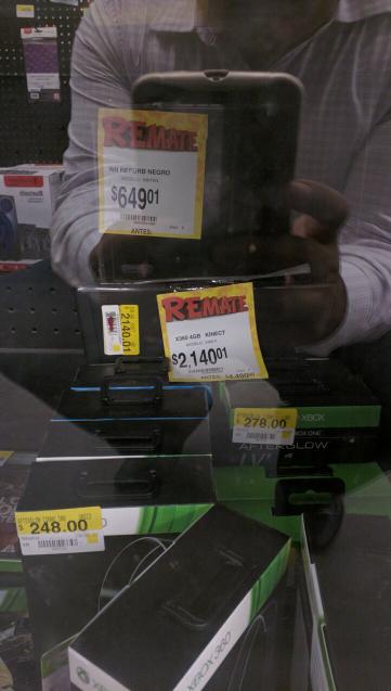 Bodega Aurrerá: Xbox 360 a $2,140.01 y Nintendo Wii negro refurbished a $649.01