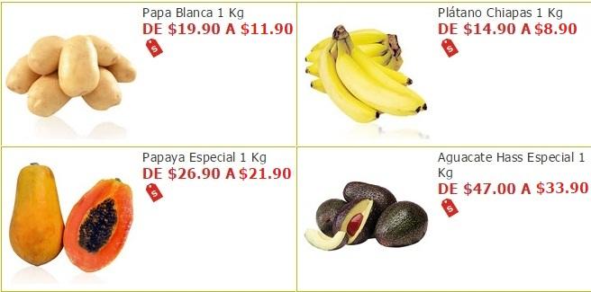 Soriana Híper y Súper: Plátano $8.90 kg; Papa Blanca $11.90 kg; Papaya $21.90 kg; Aguacate $33.90 kg; y más...