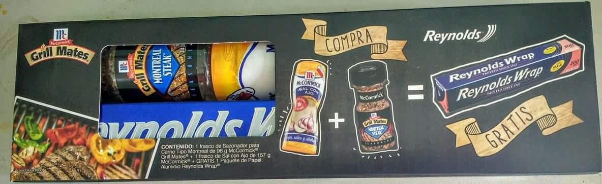 Walmart Toltecas: Oferta armada de Sazonador, Ajo en polvo y papel Aluminio a $12.01