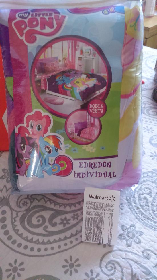 Walmart: Edredón individual My Little Pony a $90.01