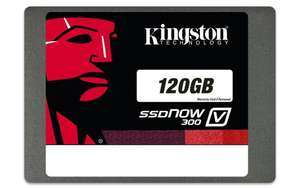 Amazon: Disco Duro Estado sólido Kingston v300 120Gb (vendido y enviado desde China por un tercero nuevo)