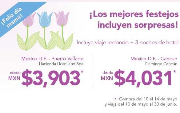 Volaris: avión y 3 noches en la playa desde $3,903 (saliendo del DF y Toluca)