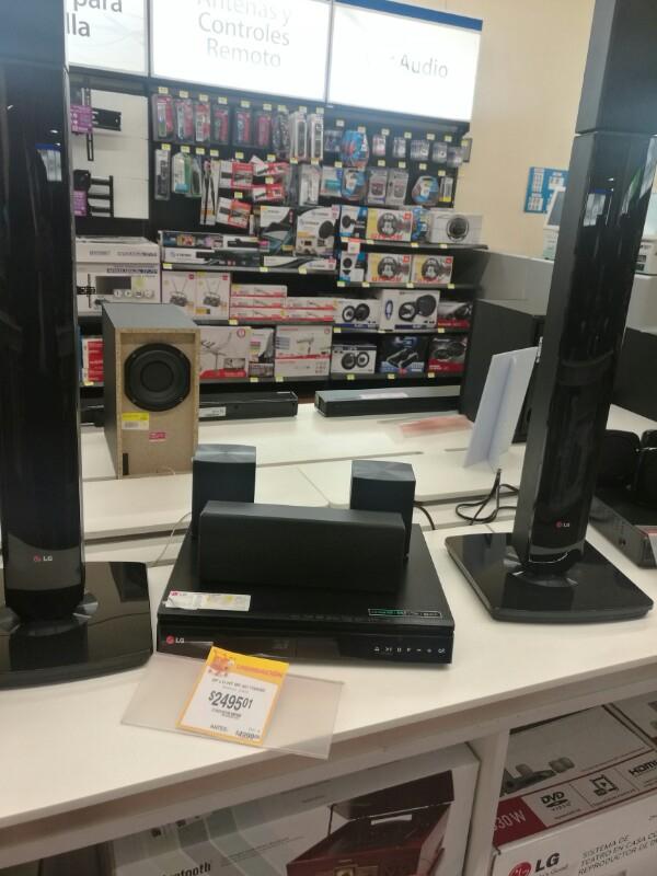 Walmart Patio Santa Fé: reproductor Blu-ray 3D con Home Theater a $2,495.01 y más ofertas.