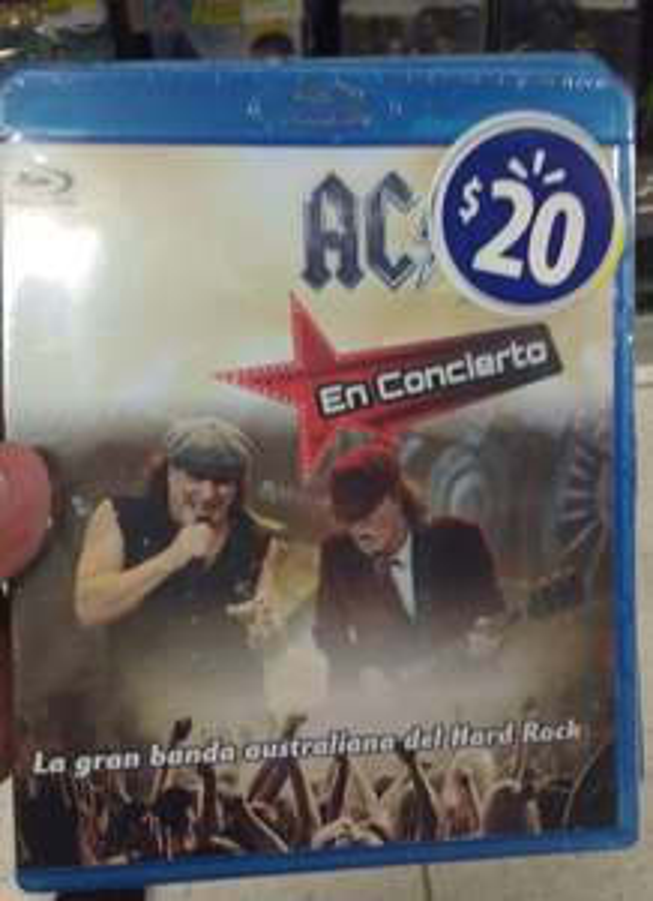 Walmart:  Blu-ray Concierto AC/DC