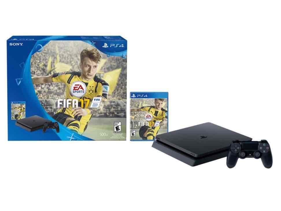 Liverpool en línea: PS4 Slim 500 gb con FIFA 17 a $6,969